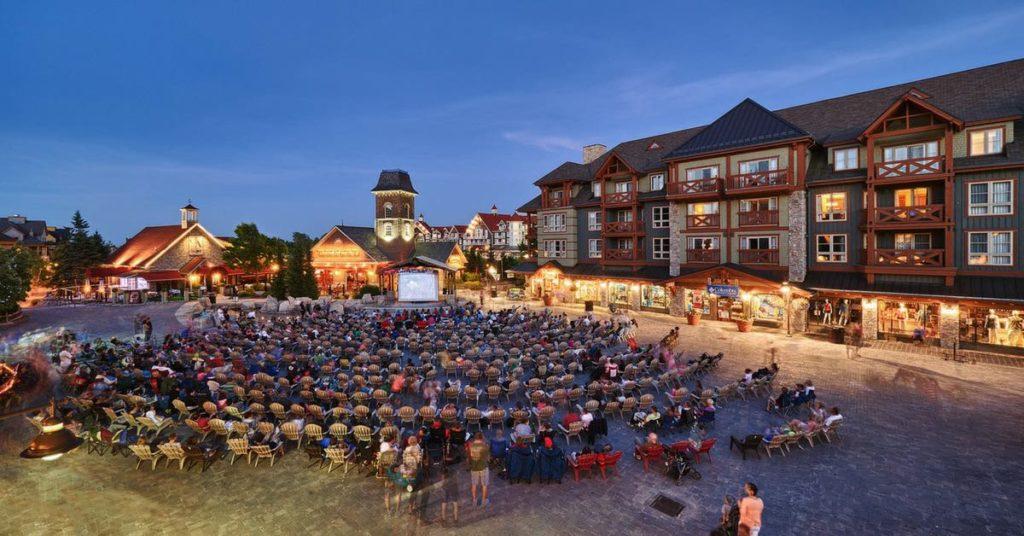 Blie Mountain Village Movies Under the Stars