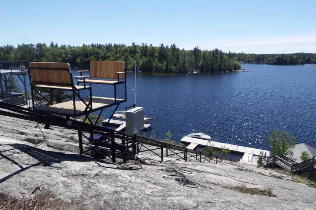 Cottage Lifts' Elevation Solutions an Easy Way to Tackle Slopes
